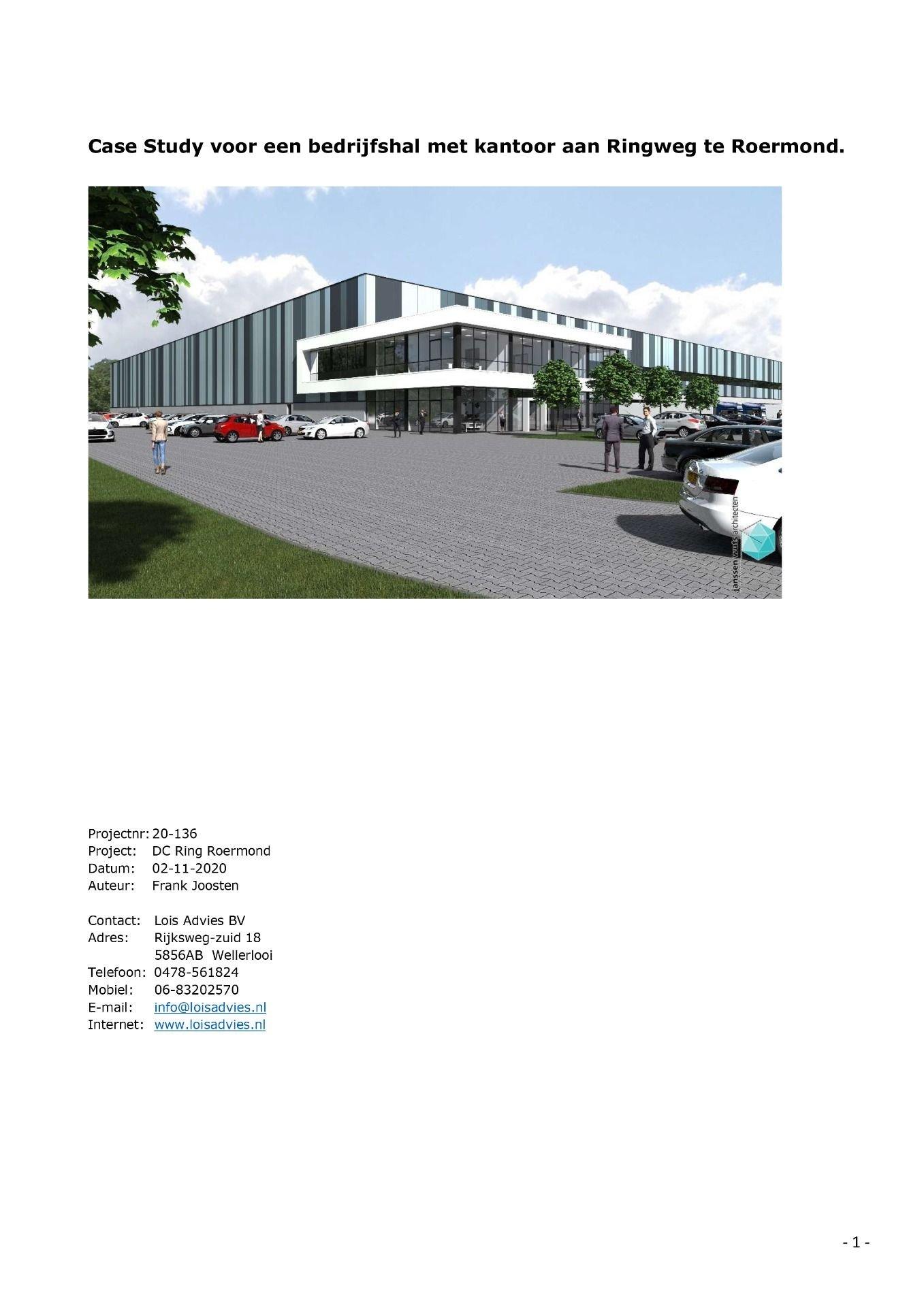 BREAAM Case Study Man9-1 voor Frasers Park, Roermond